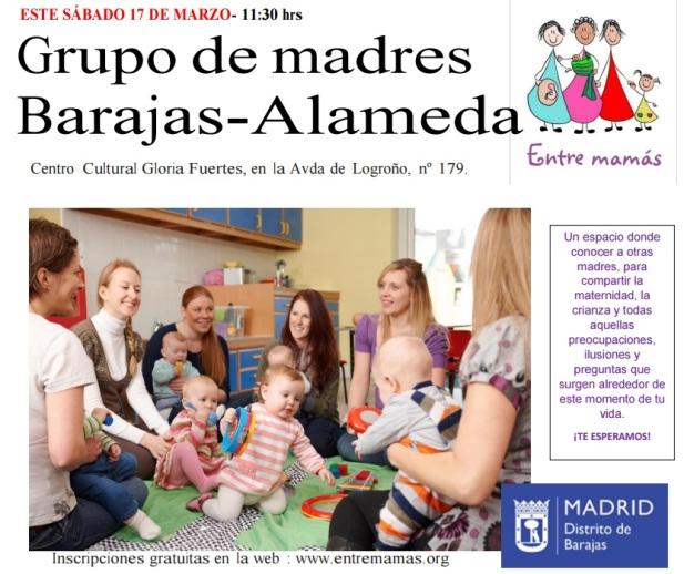 entre mamás, entre madres, maternidad, grupos de madres
